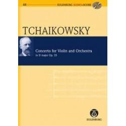 Pyotr Ilyich Tchaikovsky - Violin Concerto In D Op.35 - Conducteur de poche + CD