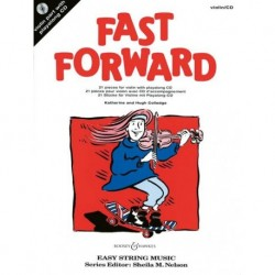 Hugh Colledge/Katherine Colledge - Fast Forward Violin - Recueil + CD