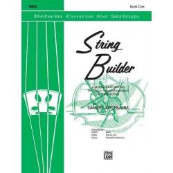Samuel Applebaum - String Builder, Book I Viola - Recueil