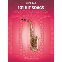 101 Hit Songs Alto Saxophone - Recueil