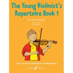 Paul de Keyser - The Young Violinist's Repertoire 1 Violon et Piano - Recueil