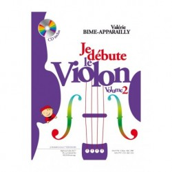 Valerie Bime-Apparailly/Apparailly - Je Débute le Violon - vol. 2 - Recueil + CD