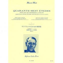 Marcel Mule - 48 Études (Ferling) Saxophone - Recueil