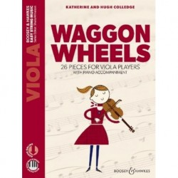 Hugh Colledge/Katherine Colledge - Waggon Wheels Alto et Piano - Recueil + Enregistrement(s) en ligne