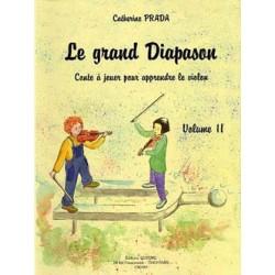 Catherine Prada - Le Grand diapason Vol.2 Violin - Recueil