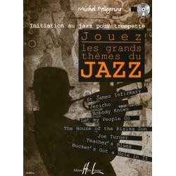Michel Pellegrino - Jouez les grands thèmes du jazz Trumpet - Recueil + CD