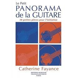 Catherine Fayance - Le Petit Panorama De La Guitare - Recueil + Partition