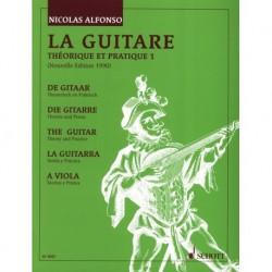 P. Alfonso - La guitare théorique et pratique 1 - Recueil