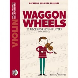 H. Colledge/K. Colledge - Waggon Wheels Violin - Recueil + CD