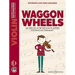 Hugh Colledge/Katherine Colledge - Waggon Wheels Violon et Piano - Recueil + Enregistrement(s) en ligne