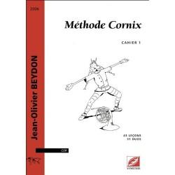Jean-Olivier Beydon - Méthode Cornix - Vol. 1 Horn - Recueil