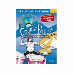 Denis Roux - Coup De Pouce Debutant Batterie volume 1 (ancienne édition) - Recueil + DVD