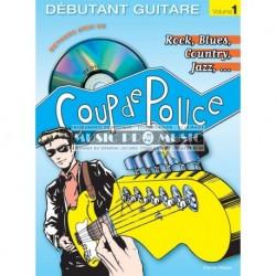 Denis Roux - Coup De Pouce Méthode Guitar Rock Débutant Vol. 1 (ancienne édition) - Recueil + CD