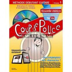 Denis Roux/Michel Ghuzel - Coup de Pouce Guitare Acoustique Volume 1 (ancienne édition) - Recueil + Liens Youtube
