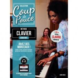 Coup de pouce Débutant Clavier - Recueil + CD