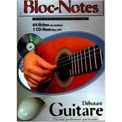 Denis Roux - Méthode Bloc-Note Guitare - Recueil + CDROM