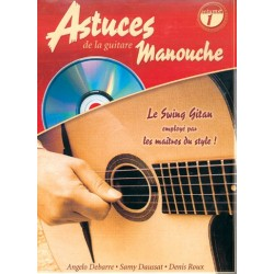 Angelo Debarre - Astuces De La Guitare Manouche Vol. 1 - Recueil + CD