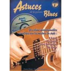 Denis Roux - Astuces De La Guitare Blues Vol. 1 - Recueil + CD