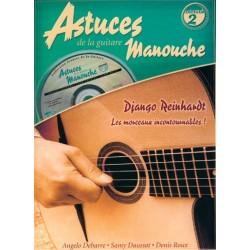 Angelo Debarre - Astuces De La Guitare Manouche Vol. 2 - Recueil + CD