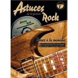 Denis Roux/Laurant Miqueu - Astuces de la Guitare Rock Vol. 1 - Recueil + CD