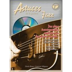 Denis Roux/Laurant Miqueu - Astuces de la Guitare Jazz Vol. 1 - Recueil + CD