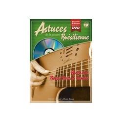 Denis Roux/Michel Ghuzel - Astuces de la Guitare Brésilienne Vol. 1 - Recueil + CD + DVD
