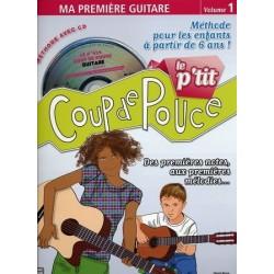 Denis Roux - Le P'tit Coup de Pouce Guitare Volume 1 - Recueil + CD