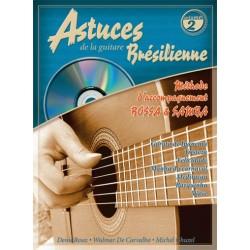 Denis Roux/Wulmar de Cavarlho/Michel Ghuzel - Astuces de la Guitare Brésilienne Vol. 2 - Recueil + CD