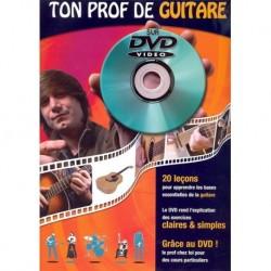 Ton Prof de Guitare Acoustique sur DVD - Recueil + DVD