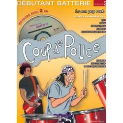 Denis Roux/Silvio Biello - Coup de Pouce Batterie Vol. 3 - Recueil + 2 CDs