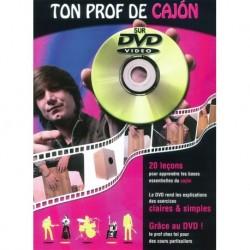 Ton Prof de Cajon - Recueil + DVD