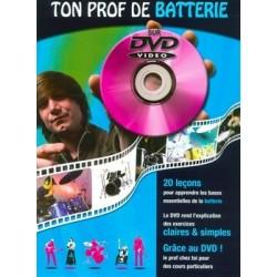 Ton Prof De Batterie - Recueil + DVD