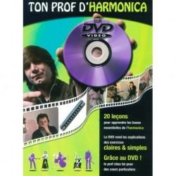 Ton Prof d'Harmonica - Recueil + DVD