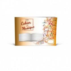 Cahier De Musique 20 pages 6 Portees format italien - Recueil