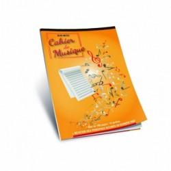 Bloc 100 pages perforées 12 Portées - Recueil