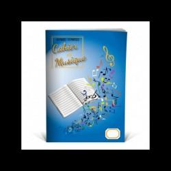 Cahier De Musique 12 Portees - Recueil