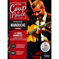 Denis Roux - Coup de Pouce Super Débutant Swing Manouche Guitare - Recueil + CD + DVD