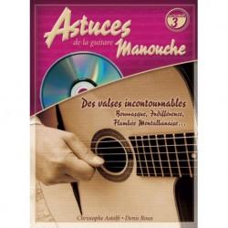 Christophe Astolfi/Denis Roux/Denis Roux - Astuces De La Guitare Manouche Vol. 3 - Recueil + CD