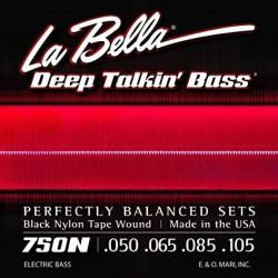 La Bella 750N - Jeu de cordes 50-105 pour basse électrique