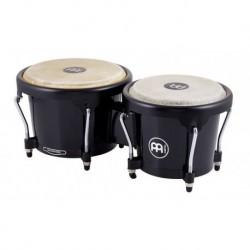 """Meinl HB50BK - Paire bongos Journey 6"""" 1/2 & 7"""" 1/2 avec fûts ABS et peaux animales"""
