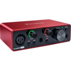 Focusrite SCARLETT3-SOLO - Carte son 2in/2ou Solo 3rd Generation USB-C