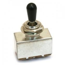 Sélecteur 3 positions type LP boitier fermé bouton noir Coréen