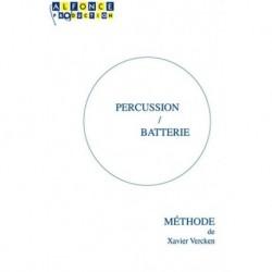 Xavier Vercken - Méthode de Percussion / Batterie - Batterie - Recueil