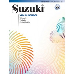 Dr. Shinichi Suzuki - Suzuki Violin School 5 + CD (Revised) - Violin - Recueil + CD