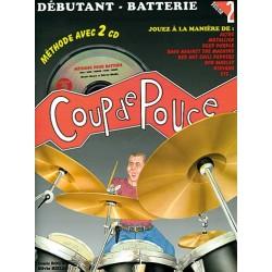 Denis Roux - Coup de pouce 2 Debutant Batterie (ancienne édition) - Batterie - Recueil + CD