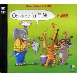 Marie-Hélène Siciliano - On aime la F.M. CD Vol.1 - Musical Education - CD