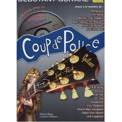 Denis Roux - Coup De Pouce Guitare Rock Vol 2 (ancienne édition) - Guitare - Recueil + CD