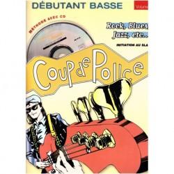Denis Roux - Coup De Pouce Debutant Basse Vol. 1 (ancienne édition) - Bass - Recueil + CD
