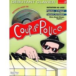 Denis Roux/Thierry Jan - Débutant - Claviers Jazz(ancienne édition) - Piano - Recueil + CD