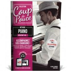 Denis Roux - Coup De Pouce Clavier volume 1 - Recueil + Enregistrement(s) en ligne